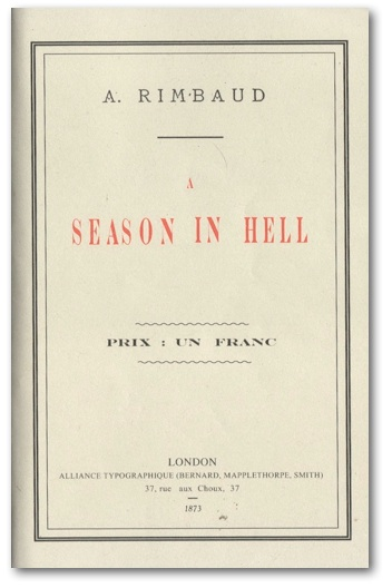 a season in hell Shmoop guide to escape in a season in hell escape analysis by phd students from stanford, harvard, and berkeley.