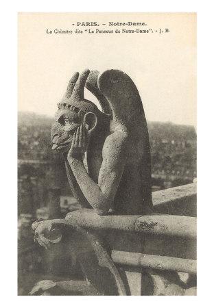 PS-00059-C~Gargoyle-on-Notre-Dame-Paris-Posters.jpg